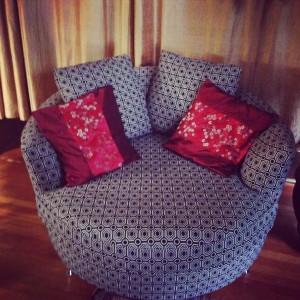 Tellulah Darling's armchair