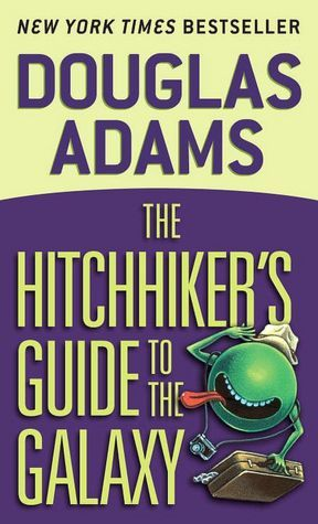 book cover for The Hitchhikers Guide to the Galaxy