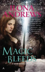 Magic bleeds cover