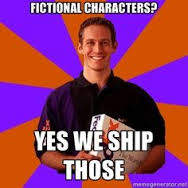 ship fictional characters